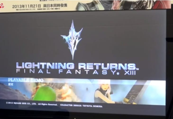 Lightning Returns: Final Fantasy 13 early gameplay