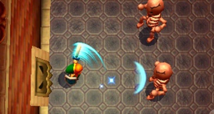 Zelda A Link to the Past 2 3D necessity, Dark World joy
