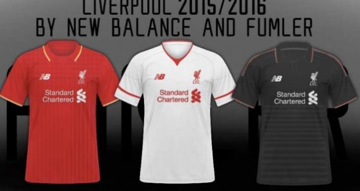Liverpool FC 2015/16 kit rumors on FIFA 16