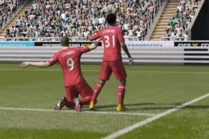 Rickie Lambert finally scores for Liverpool Vs Newcastle