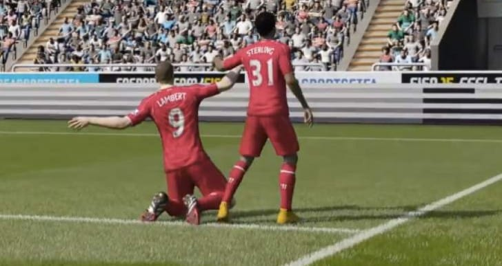 Rickie Lambert finally scores for Liverpool Vs Newcastle