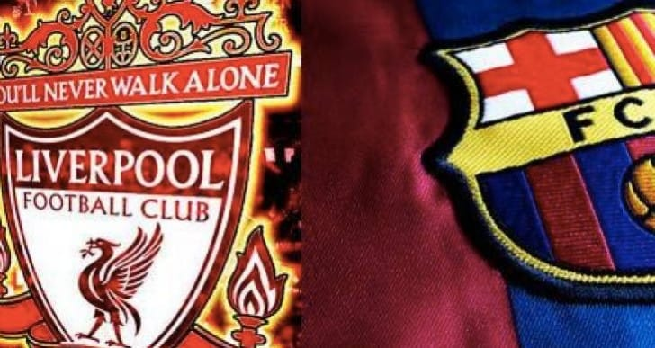Luis Suarez Barcelona Vs LFC on FIFA 15