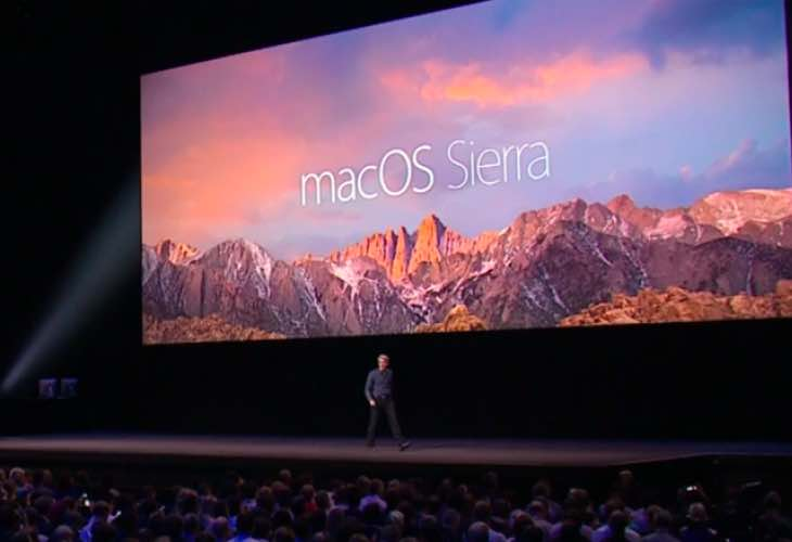 macOS Sierra features with emphasis on Continuity