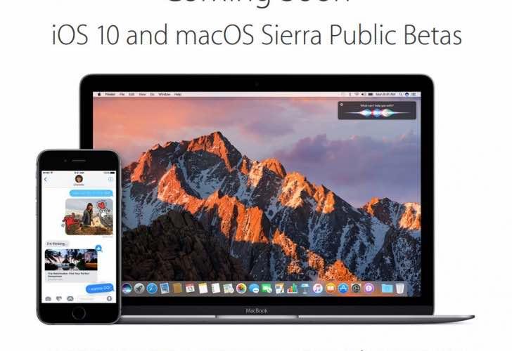 macOS Sierra public beta problems