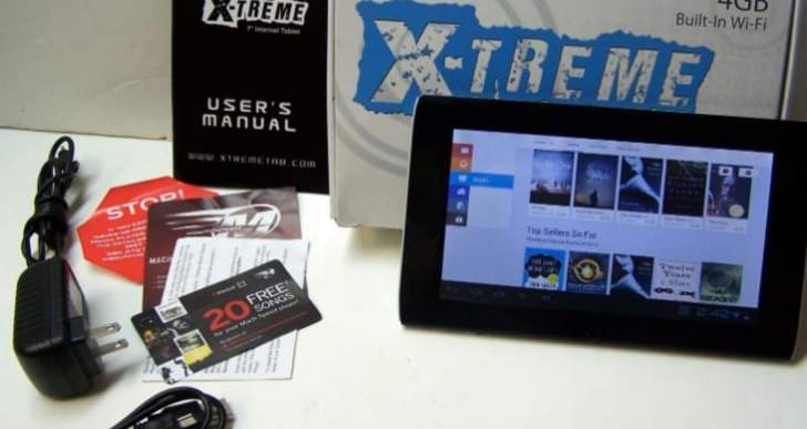 Mach Speed Xtreme Play review of 7-inch tablet specs
