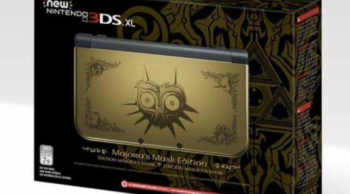 Zelda Majora's Mask New 3DS XL UK, US stock hope