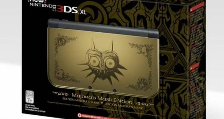 Zelda Majora's Mask New 3DS XL UK, US stock hope