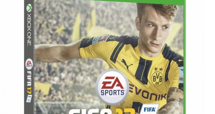 Marco Reus shocks world with FIFA 17 Cover