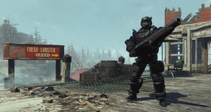 Fallout 4 Marine Combat Armor shipment locations