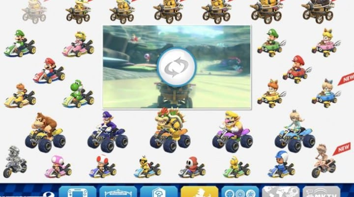 Mario Kart 8 release date and characters