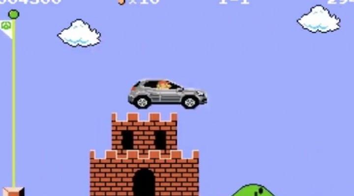 Mercedes GLA commercial before Mario Kart 8 DLC