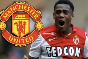 Anthony Martial Manchester United rating on FIFA 16