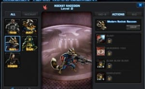 Marvel Avengers Alliance Rocket Raccoon strategy