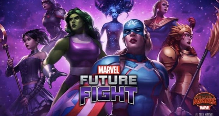 Marvel Future Fight Level 60 Heroes coming soon