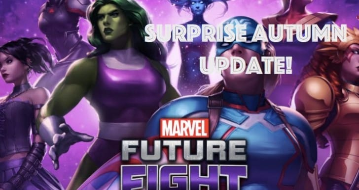 Surprise Marvel Future Fight Autumn update notes