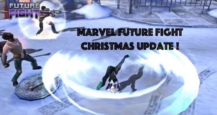 Marvel Future Fight Christmas update with Snow stage
