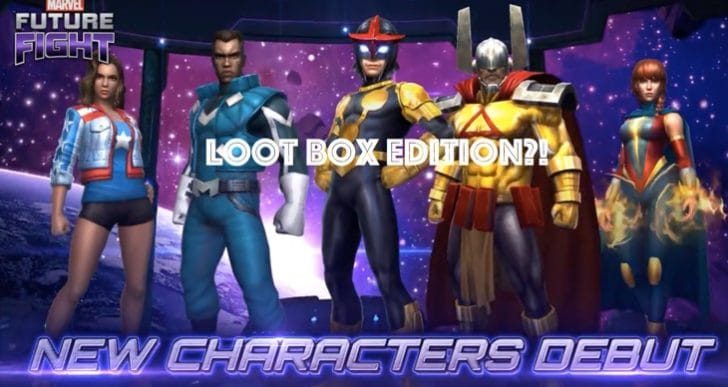 Marvel Future Fight players backlash after Netmarble intros Loot Box