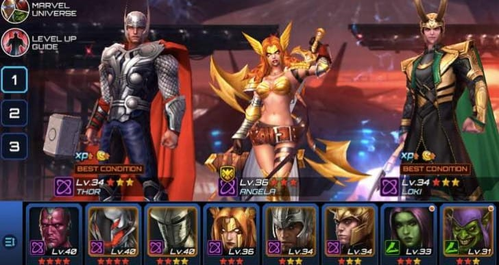 Marvel Future Fight Chapter 9 with new Elite missions