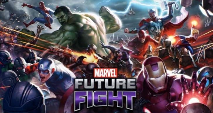 Marvel Future Fight 1.2.2 update notes with Special Gear