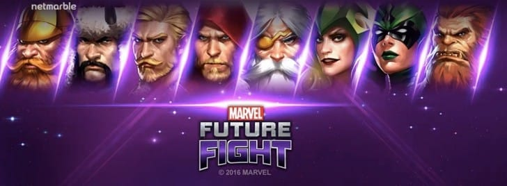 Marvel Future Fight Christmas event update for 2016