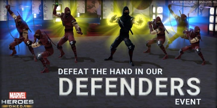 The Defenders event coming to Marvel Heroes Omega