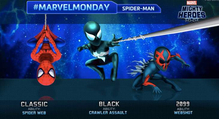 Black Spider-Man coming to Marvel Mighty Heroes