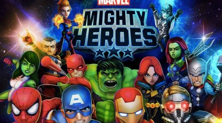 Marvel Mighty Heroes for iPhone and Android