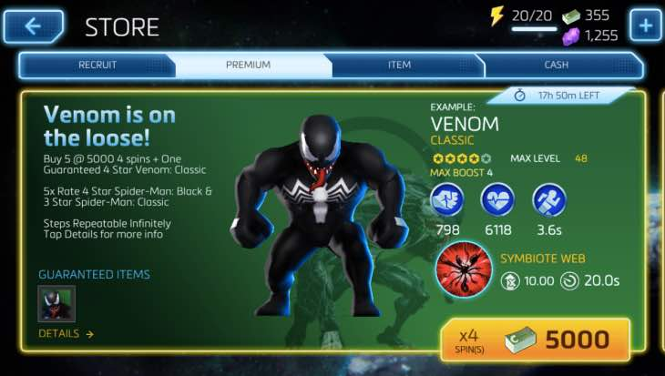 Fan anger over Marvel Mighty Heroes spin prices