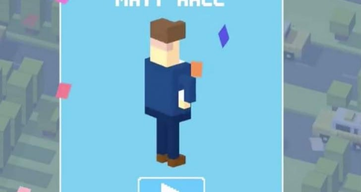 Unlock Crossy Road secret character Matt Hall in minutes