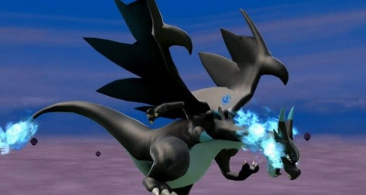 Smash Bros Mega Charizard X hype