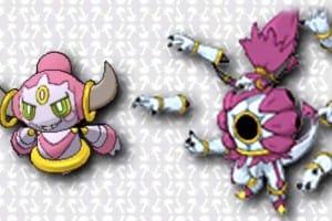 Mega Hoopa form inside Pokemon ORAS demo