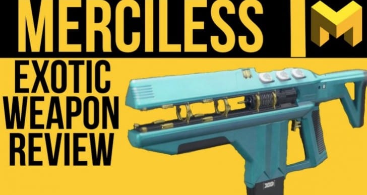 Destiny 2 Merciless Exotic review with OP fears