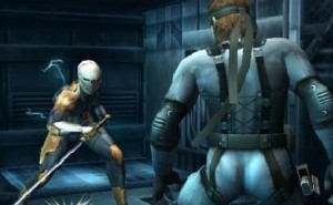 Metal Gear Rising with Gray Fox visions