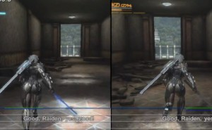 Metal Gear Rising Xbox 360 Vs PS3 graphics duel