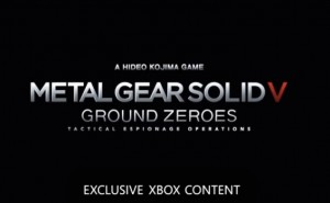 Metal Gear Solid 5 exclusive parity on Xbox One, PS4