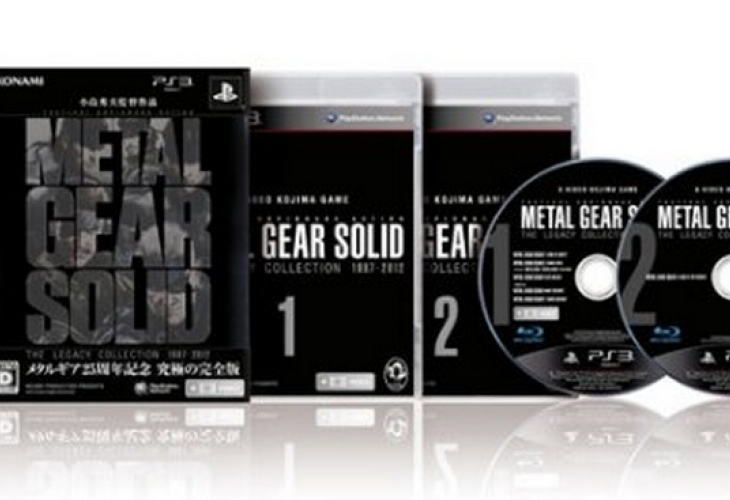 Metal Gear Solid Legacy Collection Xbox 360 Snub Reasons
