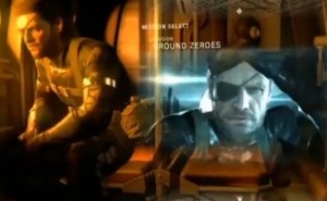 Metal Gear Solid V gameplay on PS4 hardware