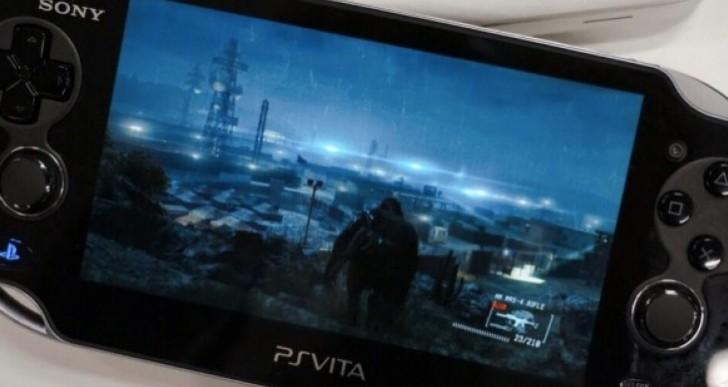 Metal Gear Solid V on PS Vita looks amazing