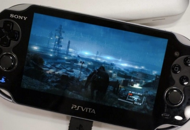 Metal Gear Solid V on PS Vita looks amazing