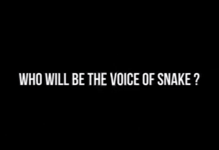 Metal Gear Solid V new Snake voice within days