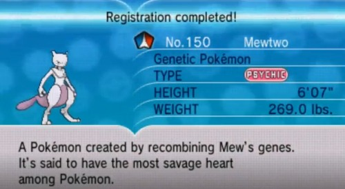 Catching Mewtwo won't be easy without a master ball.