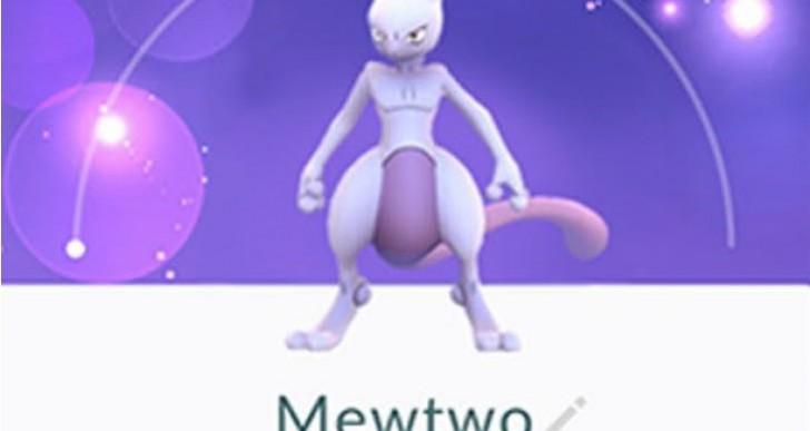 Pokemon Go update adds secret code for Mewtwo