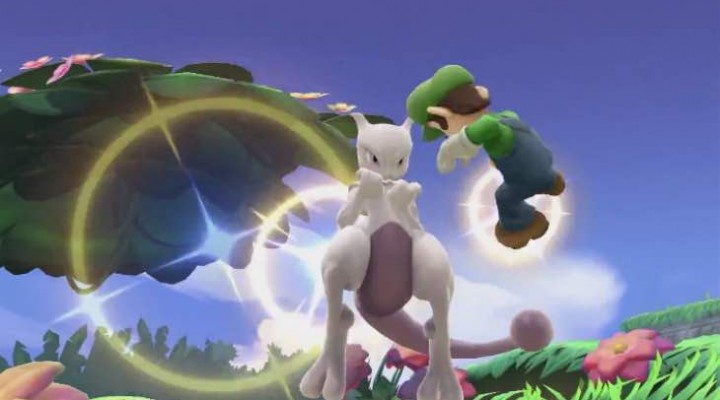 Mewtwo DLC code giveaway for Smash Bros Wii U, 3DS