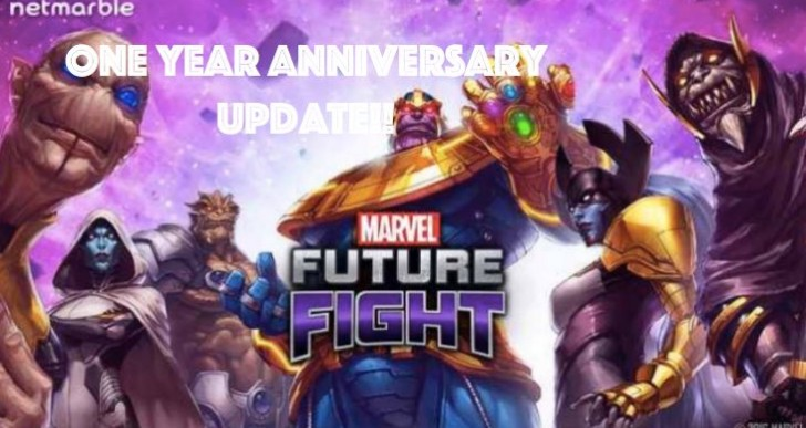 Marvel Future Fight update for 1 Year Anniversary