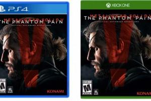 Metal Gear Solid V Phantom Pain box art shock