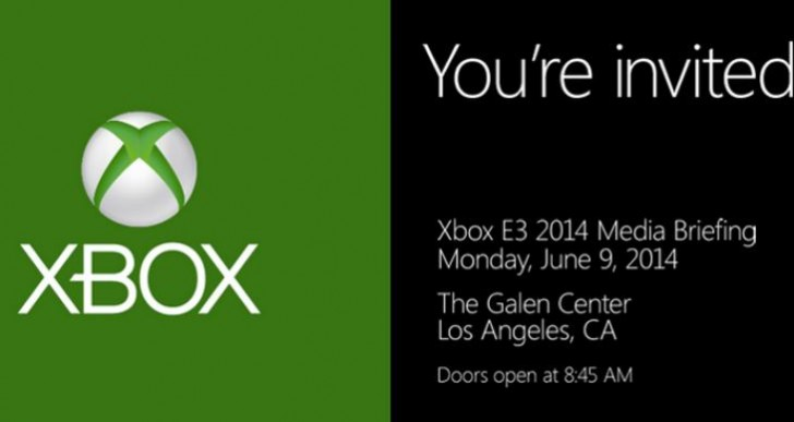 Microsoft E3 2014 date, start time excitement
