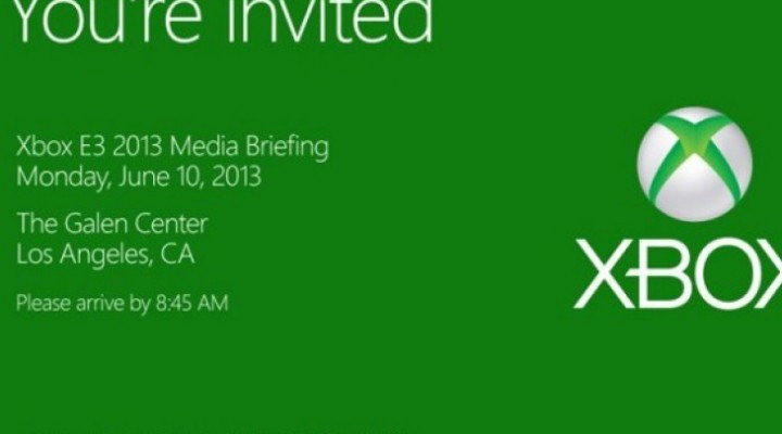 Microsoft pre E3-2013 emphasized with live stream