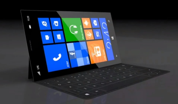 Microsoft Surface phone concept highlights future