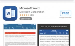 Microsoft Word for iPhone, iPad app now free download