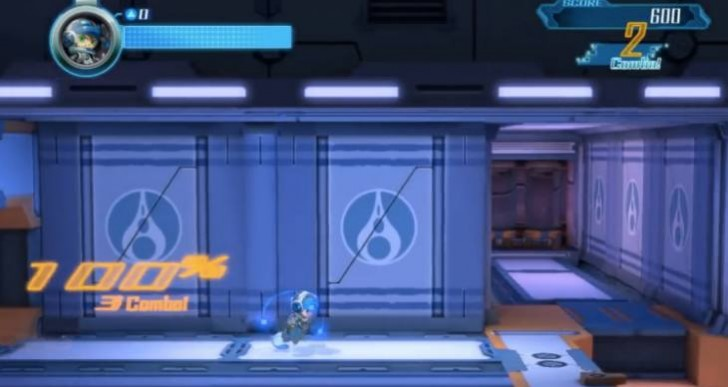 Mighty No 9 gameplay update for PS4